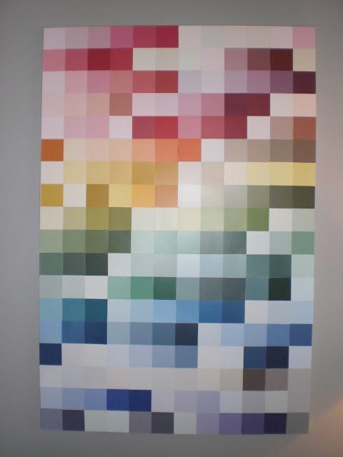 70 best Paint sample crafts images on Pinterest