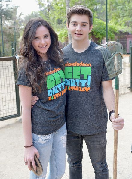 jack griffo and ryan newman | Ryan Newman Actors Ryan Newman (L) and Jack Griffo attend Nickelodeon ...