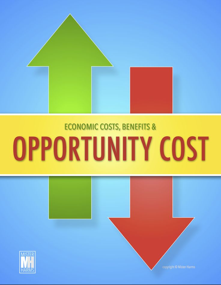 economics and opportunity cost Simply stated, an opportunity cost is the cost of a missed opportunity it is the opposite of the benefit that would have been gained had an action, not taken, been taken—the missed opportunity this is a concept used in economics applied to a business decision, the opportunity cost might refer.