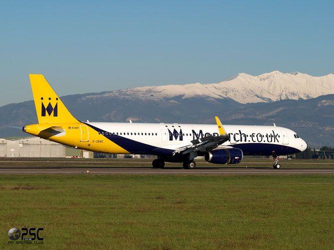 Airbus A321 - MSN 5606 - G-ZBAE (sharklets) @ Aeroporto di Verona © Piti Spotter Club Verona