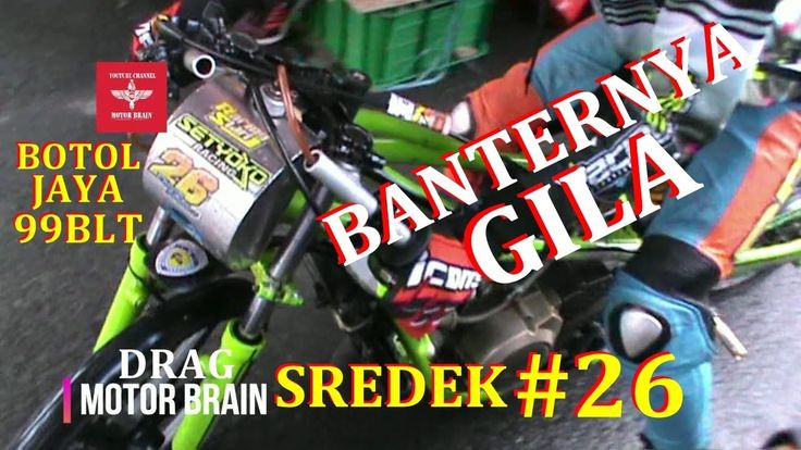 GILA BANTERNYA ! NINJA TU SREDEK TEAM BOTOL JAYA 99BLT | VIDEO DRAG BIKE