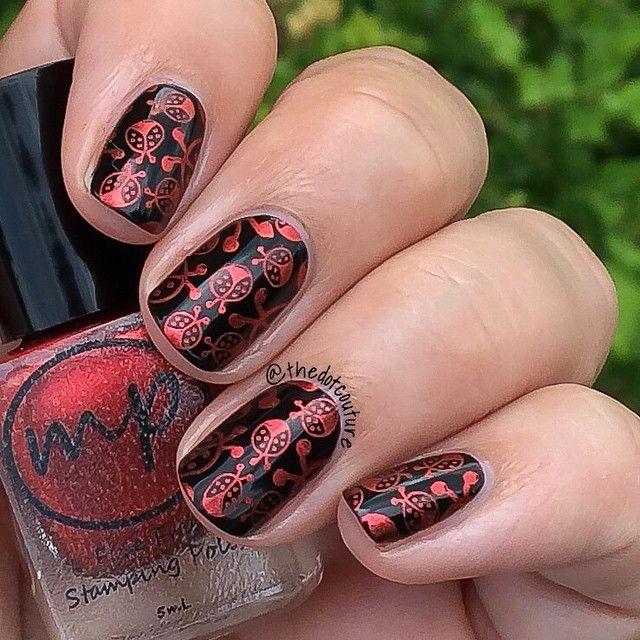 1000+ Ideas About Ladybug Nails On Pinterest