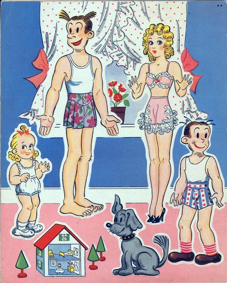 Dagwood & Blondie - 'Dress' your favorite cartoon ...