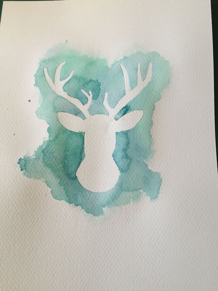 How to Create a Watercolor Deer