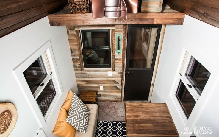 The Roving Interior by 84 Tiny Houses - 84 Lumber