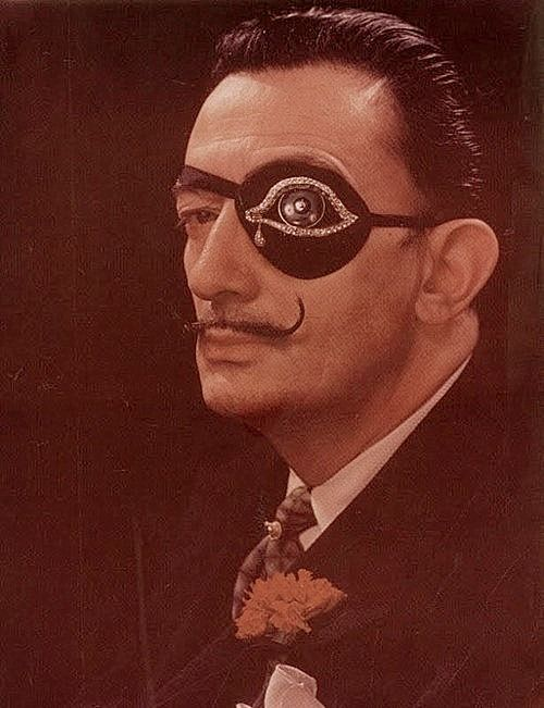 Third Eye Salvador Dali style: