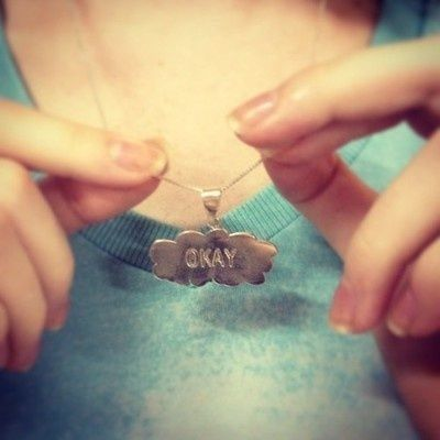 Fault in the stars necklace