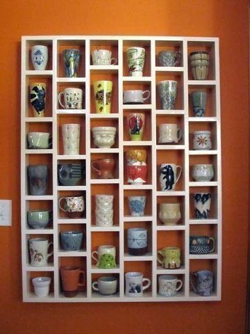 I love this idea for tea cups!!!