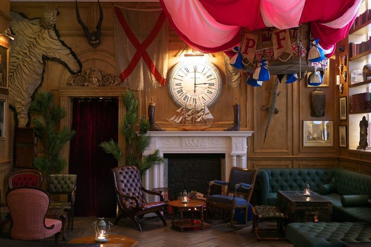 Mr Fogg's Bar - Mayfair #london #bars