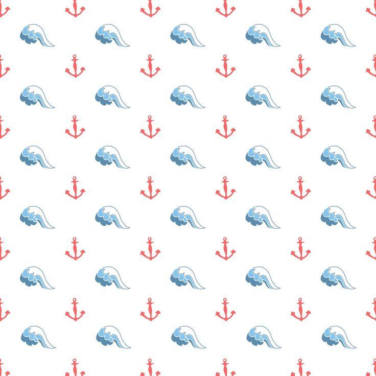Скрапбукинг морской фон. Набор скрапбумаги. Scrapbooking sea background. A set of paper for scrapbooking.