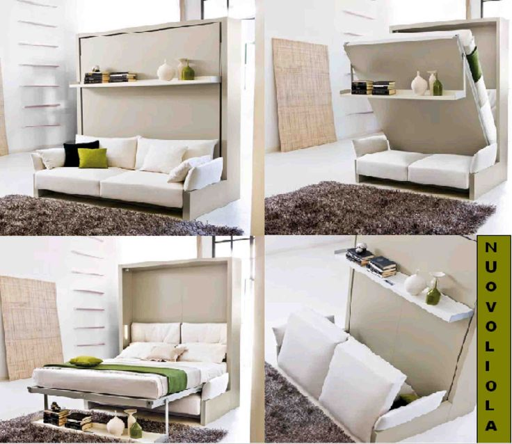 Nuovoliola by resource furniture this queen size murphy bed is only deep when it is - Resource furniture espana ...