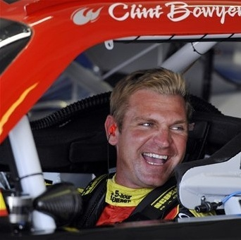 Clint Bowyer...what a smile.