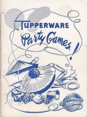 1956 Tupperware Party Games Booklet