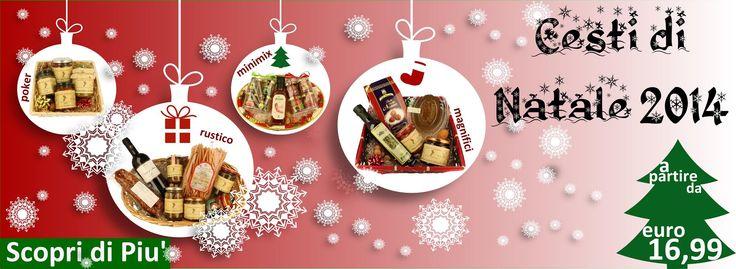 #cesti #regalo di #Natale #2014 #buongustaidicalabria #vendita #online #prodotti #tipici #bio #calabresi #italy #calabria — con www.buongustaidicalabria.it