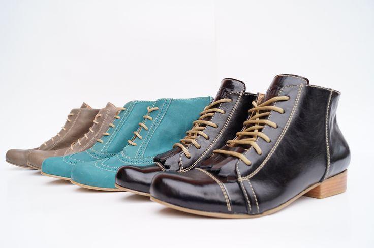 #botin #mujer #tendencia #2015 #shoes #lether #cuero #hechoenchile #nain #zapateria