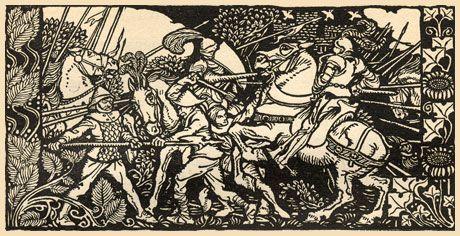 Первый рыцарь / First Knight / Шон Коннери (1995 год) / Король Артур - легенда и история.