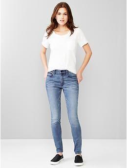 1969 resolution true skinny high-rise jeans | Gap