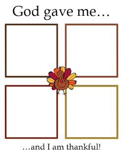 Thanksgiving Worksheets available from Little Miss Catechist! Great for teaching how to be thankful for students in Kindergarten, 1st Grade, and up! Perfect Sunday School lesson!