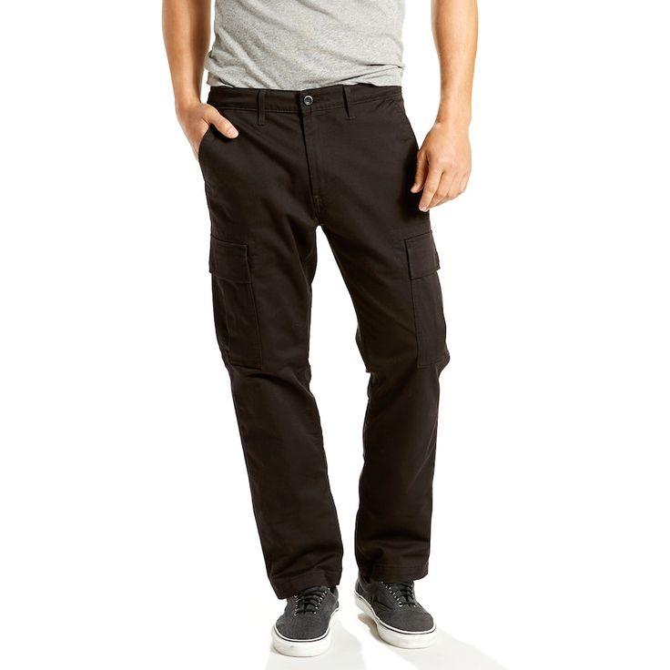 Boys 8-20 Levi's® 541 Athletic Fit Cargo Pants, Size: 44X32, Black