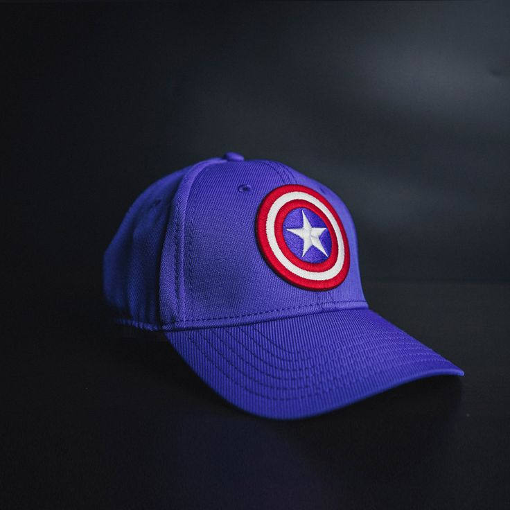 cool Snapback Baseball Cap Hat Captain America Shield Logo