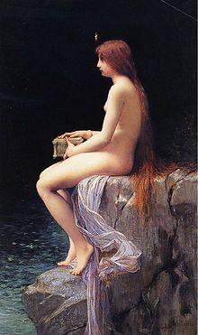 Jules Joseph Lefebvre: Pandora, 1882