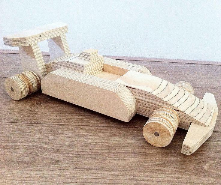 Houten speelgoed auto Www.kooekie.nl