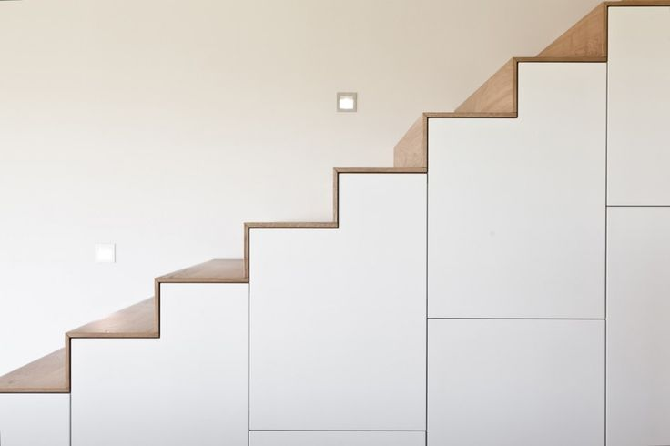 :: STAIRS :: adore the clever integration of storage. House BFW | [tp3] architekten #stairs