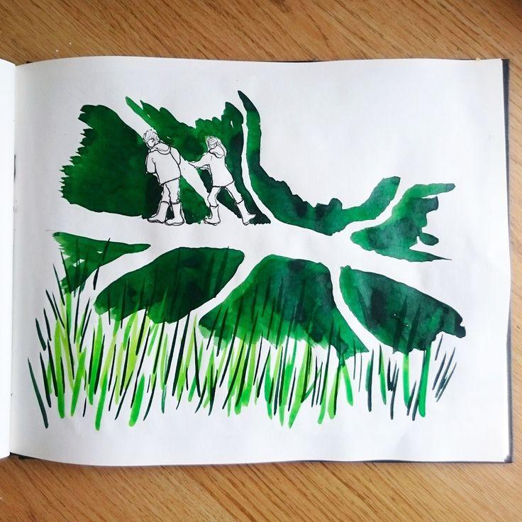 Day 22 28 Drawings Later Sketchbook Challenge by Jo Degenhart