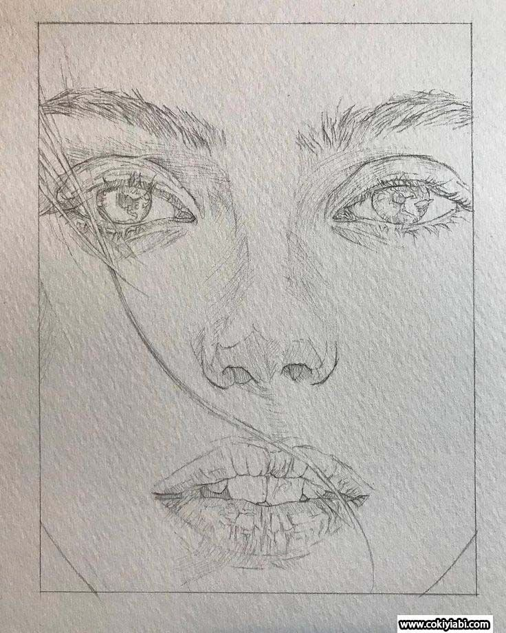 Realistische Lady Zeichnungen – #Lady # Zeichnungen #Realistic #Pencil Drawing