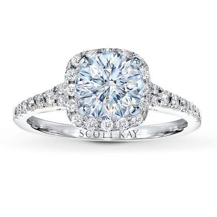 jared the galleria of jewelry scott kay ring setting - Wedding Rings Jared