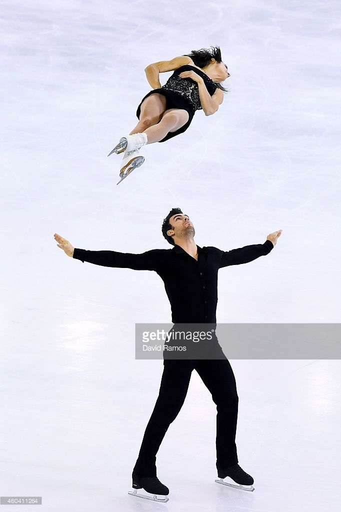 Meagan Duhamel and Eric Radford of Canada compete in Free Skating Pairs Final during day three of the ISU Grand Prix of Figure Skating Final 2014/2015 at Barcelona International Convention Centre on December 13, 2014 in Barcelona, Spain.