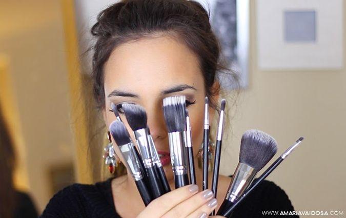 Como Lavar os Pincéis de Maquilhagem | Video | A Maria Vaidosa