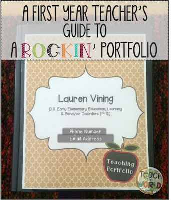 Teach the World: A First Year Teacher's Guide to a Rockin' Portfolio
