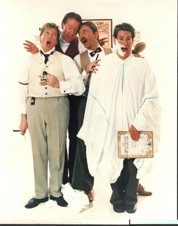 """Barber Shop Quartet .. by Norman Rockwell"