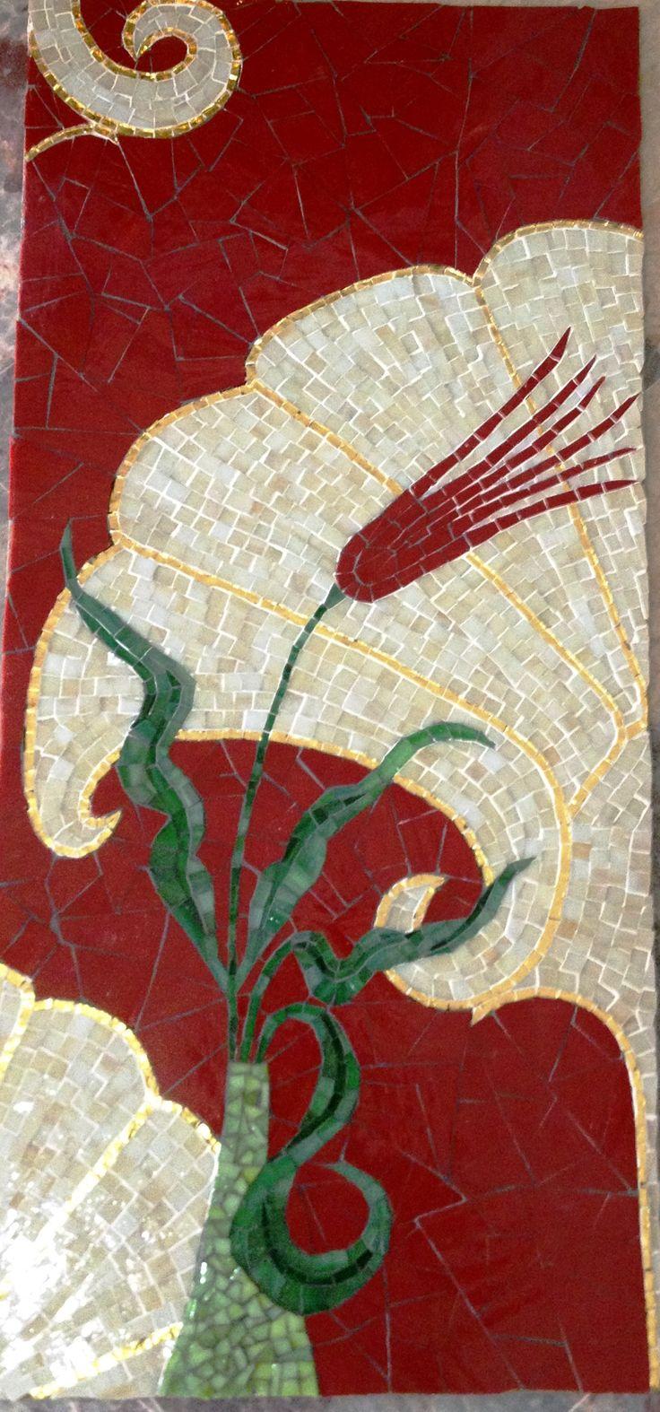 Sevgili Pelin Arslanalp'tan Mozaik Lale çalışması. Ellerine sağlık.