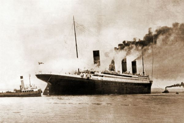 To mark the centennial of the Titanic's sinking, a British company is offering a chance to reconstruct the ship's fateful journey by traveling to the location where the ship sank.: Titanic Exhibitions, British History, Titanic Ii, Lunches Menu, Lance Titanic, Titanic Finals, Finals Lunches, Crui Ships, History Pics