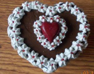 San Valentino -Torta di San Valentino con panna e nutella | Ricette&Sapori