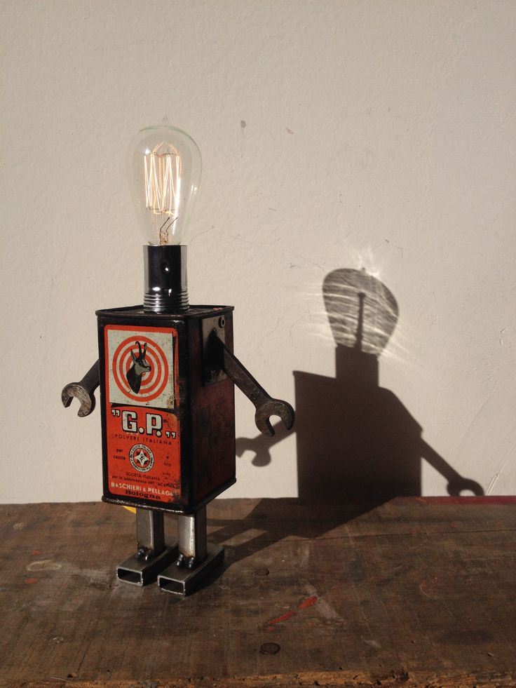 #robot #toydesign #lighthead
