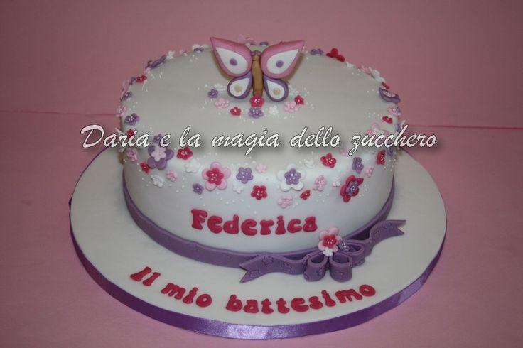 #Torta battesimo bimba #Baptism cake
