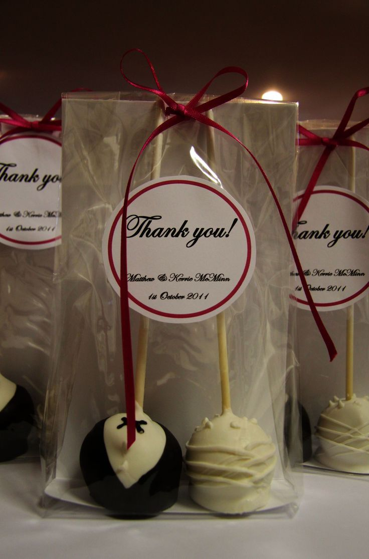 Wedding Favor Ideas Cheap Favors Wedding Favors Fall Wedding Cake Pops Favors