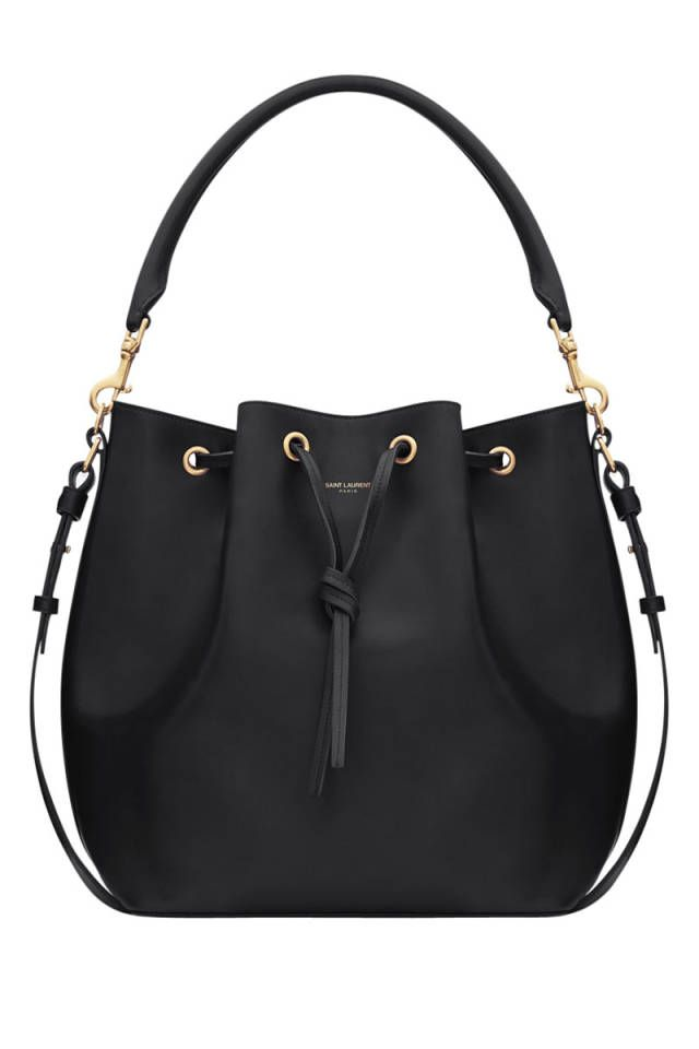 Shop the roomy, unfussy bag of the season! Check out the bucket bag here.