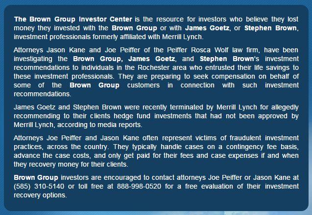 Brown Group Lawsuit