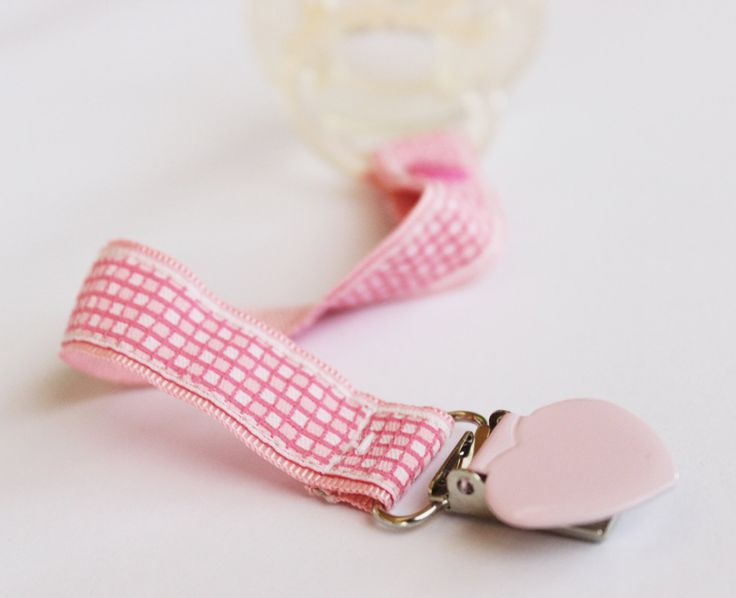 Baby Girl Pacifier Clip, Soothie pacifier, Baby pacifier clip, mam pacifier clip, Binky Clips, Baby Girl pacifier, Pacifier holder by BlackBunnyCreations on Etsy