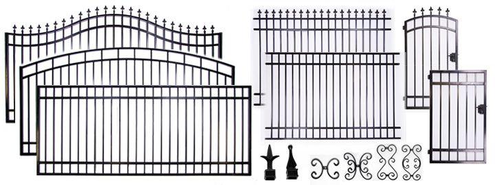Best 25 Wrought Iron Driveway Gates Ideas On Pinterest