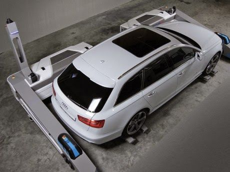 RAY, Robot Smart Parking