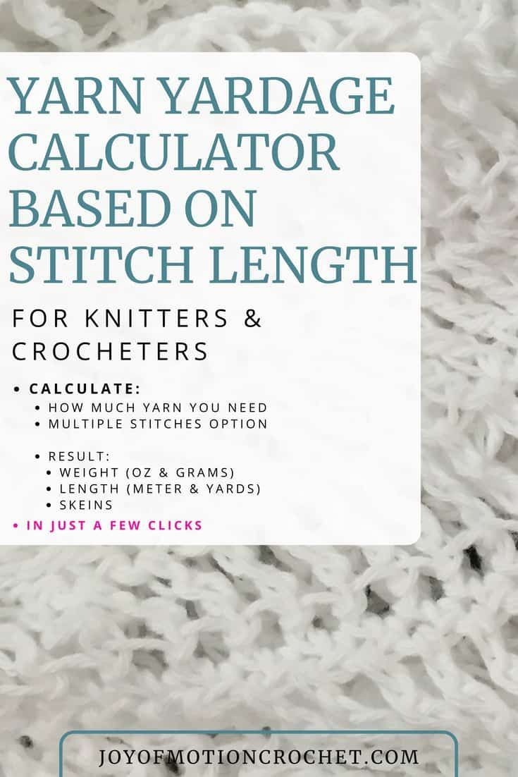 Yarn Yardage Calculator Based On Stitch Length For Knitters And Crocheter Free Y Crochet Blanket Yarn Beginner Crochet Tutorial Crochet Stitches For Beginners,How Long Do Cats Live Domestic