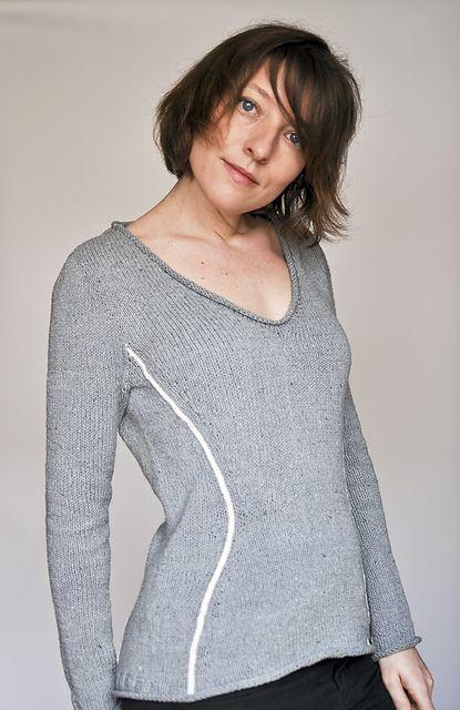 Ravelry: Sablier pattern by Elise Dupont tricot adaptable à la morphologie de chacune