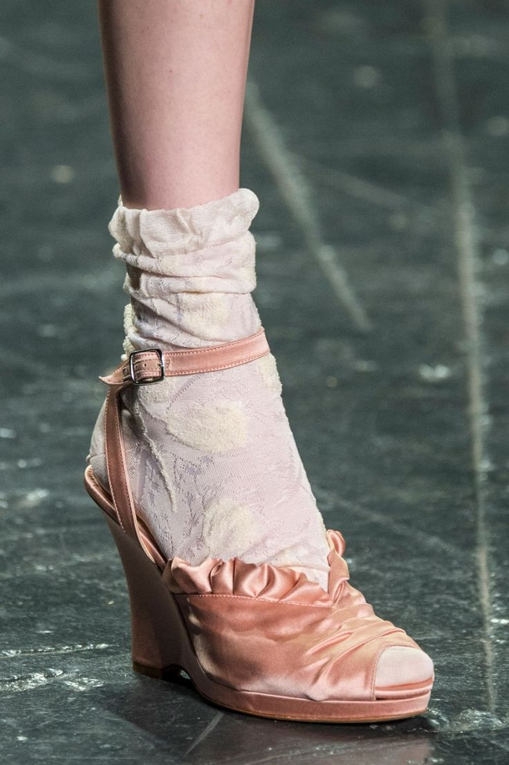 The 50 best shoes from NYFW Fashion Week Spring 2017 |Anna Sui Spring/Summer 2017