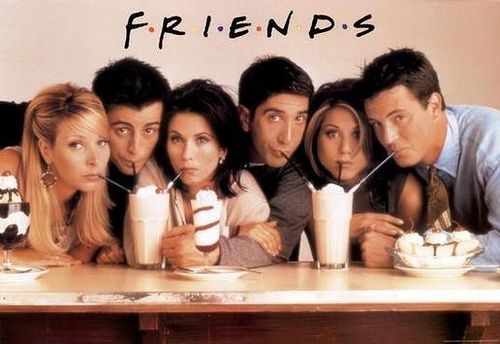TELEVISION PICTURE CHALLENGE #4: Favorite Show Ever- Friends! (I Love Lucy, The Big Bang Theory and Dawson's Creek all get HM)