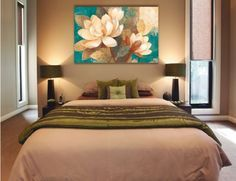 cuadros para dormitorios - Buscar con Google                                                                                                                                                                                 Más